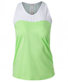Cross Court Lime Light Racerback-Melon 8764-9232