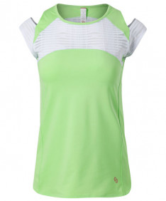 Cross Court Lime Light Cap Sleeve-Melon 8768-9232