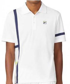Fila Men's PLR Singles Polo-White TM016282-100