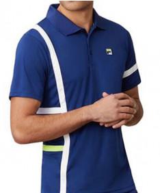 Fila Men's PLR Singles Polo- Blueprint TM016282-919