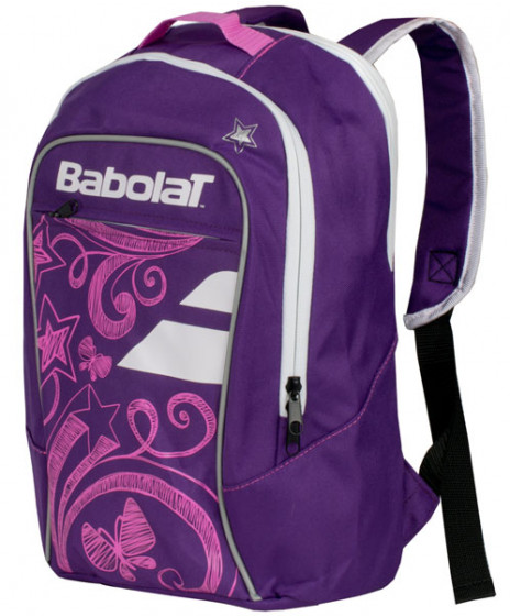 Babolat Junior Club Backpack Bag Purple 753051-159 9beed7f41347f