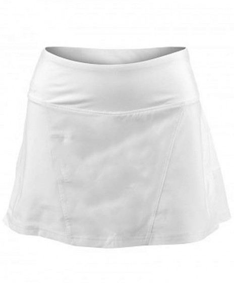 b3c926fe77 Bolle Essentials Pleated Back Skirt White 8660-0110