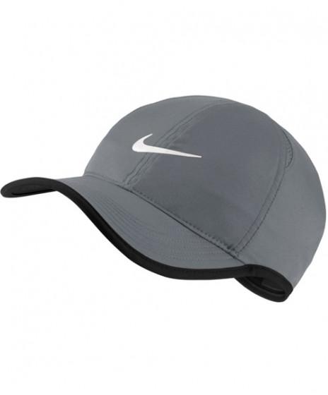 31ef3bd13958f Nike Court Aerobill Featherlight Tennis Cap Cool Grey 679421-065