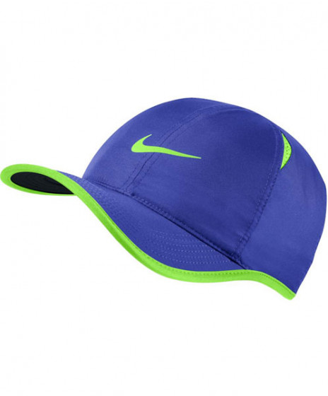 0115b32b19a5a Nike Court Aerobill Featherlight Cap Paramount Blue 679421-453