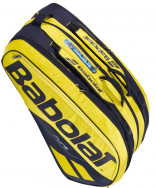 Babolat Pure Aero Racquet Holder 12 Pack Bag Black/Yellow 2019 751180-191