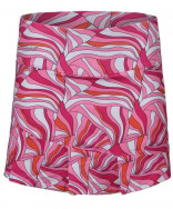 Bolle Color Burst Pleated Bottom Skirt Color Burst Print 8692-7411