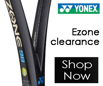 Yonex Ezone Clearance